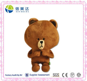 Super Cute Playing Finger Brown Bear Stuffed Animal pictures & photos