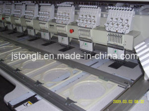 12 Heads 9 Needle Multi Head Computerized Embroidery Machine (TL-912) pictures & photos