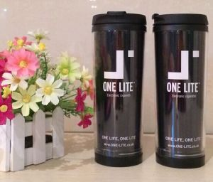 Double Walls Thermal Mug with Insert Paper