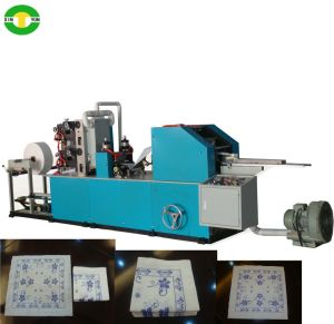 Size of Paper 170X170 Printed Paper Napkin Machine pictures & photos