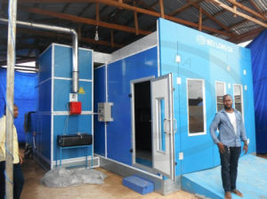 Wld9000 Car Auto Spray Drying Chamber with CE pictures & photos