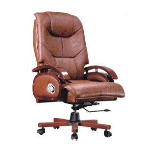 Magnificent Wooden Vintage Genuine Leather Executive Office Chair Gamerscity Chair Design For Home Gamerscityorg