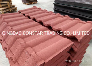 China Colorful Stone Coated Galvanized Concrete Roof Tiles For Sale China Construction Material Building Material