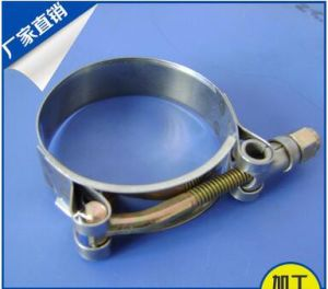 Sale Type T Stainless Steel T-Bolt Hose Clamp pictures & photos