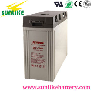 Deep Cycle 2V1000ah AGM Rechargeable Solar Battery for Solar/UPS pictures & photos