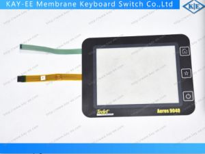 "7"" Resistive 5 Wire Control Panel with Membrane Switch Control for Airspace Products"
