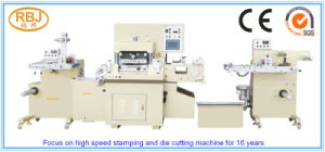 High Speed Automatic Flatbed Embossing Indentation Die Cutting Machine
