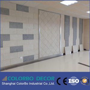 Sound Absorption Wood Fiber Wool Acoustic Ceiling Panel pictures & photos