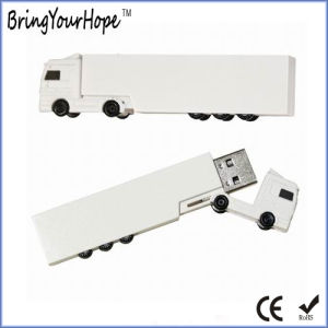 Truck Shape USB Flash Drive in Plastic (XH-USB-135) pictures & photos