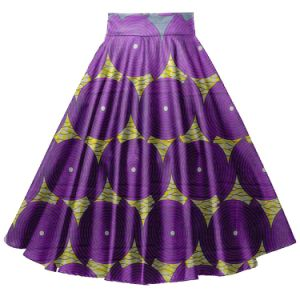 Wax Print Ankara African Clothes Women Long Maxi Skirts pictures & photos