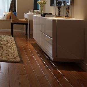 12.3mm HDF V-Groove Laminate Flooring pictures & photos