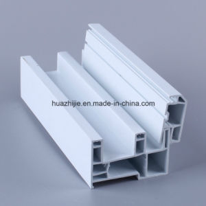 Huazhijie 80mm Series UPVC Sliding Window PVC Profiles