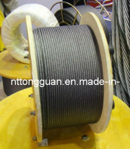 Elevator Steel Wire Rope 8*19s-FC- Dia8mm pictures & photos