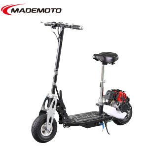 49cc CE Approved Foldable Gas Scooter (GS4902) pictures & photos
