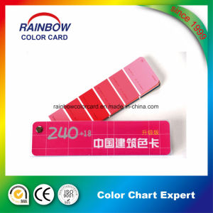 Architecture Coating Standard Color Fandeck Card for Advertising pictures & photos
