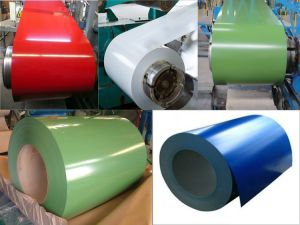 High Quality Color Coated Steel Coils with Matte Surface