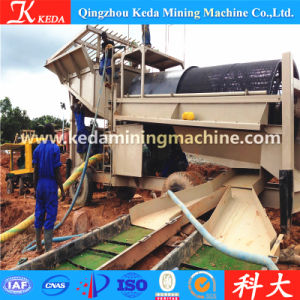 Gold Trommel Type Gold Waschanlage for Sale (1-500t/h) pictures & photos