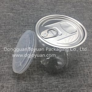 Round Plastic Jar with Eoe pictures & photos