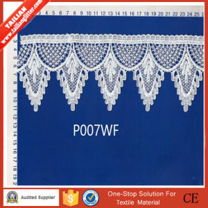 High Quality New Design Embroidery Chemical Lace pictures & photos