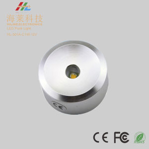1W 12V Slim LED Puck Cabinet Light pictures & photos