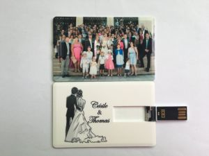 Factory Price 2GB 4GB 8GB Business Credit Card USB Sticks, Pen Drive Memory Card pictures & photos
