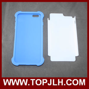 PC Rubber Printable Sublimation 3D Case for iPhone 5/5s