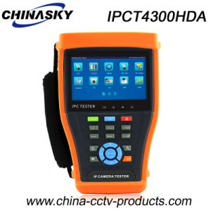 4.3inch Touch Screen Ahd, Tvi, Cvi CCTV Monitor Tester (IPCT4300HDA) pictures & photos