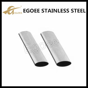 Ss304 Stainless Steel Oval Tube, Stainless Steel Oval Pipe pictures & photos