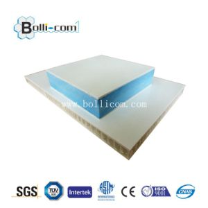 Aluminum Honeycomb Clear Coating Curved Plate pictures & photos