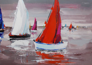 Impressionism Reproduction Acrylic Boat Oil Painting pictures & photos
