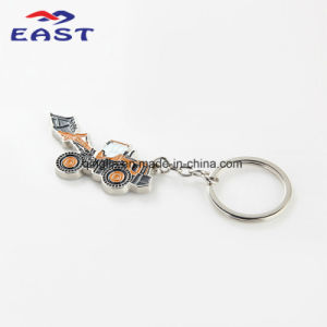 Die Casting Customized Car Shape Coloring Metal Key Ring