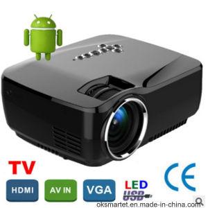 1004c04ec86760 China Wireless DLP 1080P HD RGB LED Real Home Theater Mini Projector ...