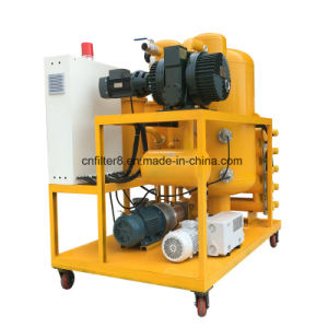 Double-Stage High Vacuum Dielectric Oil Transformer Oil Filtering Machine (ZYD-50) pictures & photos