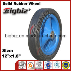 Cheap Price 12 Solid Rubber Wheel in China pictures & photos