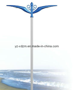 Outdoor Light Pole with Steel Material