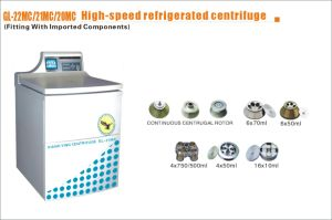 High Speed Refrigerated Centrifuge (GL-21MC) CE & ISO13485 Approved