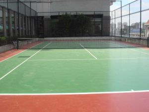 China Synthetic Tennis Court Flooring Materials Ds403 China