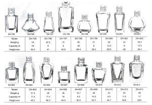 Nail Polish Bottle Dimensions