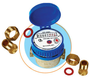 Single Jet Dry Type Water Meter (LXSG-13D1-25D1) pictures & photos