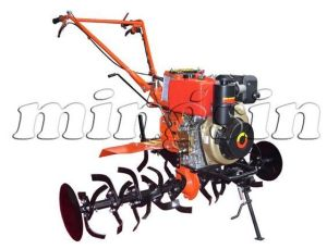 Gt-9 186f 9HP Diesel Engine Walking Rotary Tiller pictures & photos