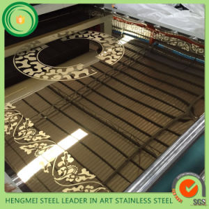 Hot Selling 201 Decorative Stainless Steel Sheet for Elevator Made in China pictures & photos