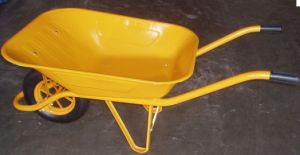 Steel Tray 65L 130kg Wheelbarrow (WB6400) pictures & photos