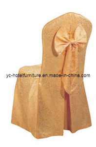 Wedding Chair Covers with Bowknot (BC12) pictures & photos