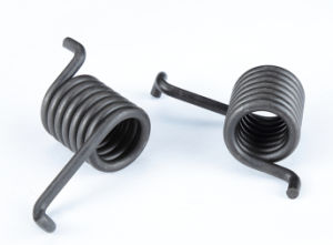 Torsion Spring with Blackening Coating