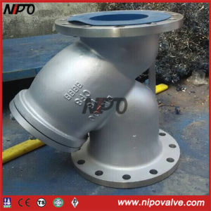 Stainless Steel Flanged Y-Strainer Y Type Filter pictures & photos