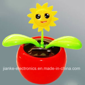 Promotional Solar Power Swing Flowers with Logo Printed (4021)