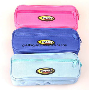 School Stationery Case Double Zipper Pencil Bag for Children (GB#30096) pictures & photos