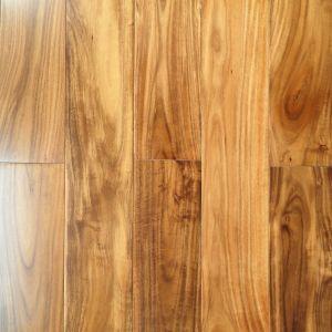 China Prefinished Handscraped Asian Walnut Solid Wood Flooring