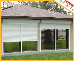 White Exterior Sun-Shade Rolling Door pictures & photos