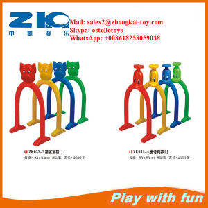 Playground Plastic Arch Door for Kids Play Fun pictures & photos
